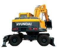 Колесный экскаватор Hyundai R180W-9S #3