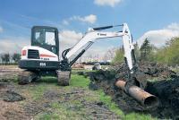 Гусеничный мини экскаватор Bobcat E55 #3