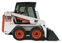 Мини-погрузчик Bobcat S100 #2