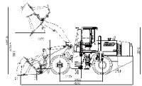 Фронтальный погрузчик Lonking CDM 835D #4
