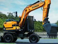 Колесный экскаватор Hyundai R140W-9S #5